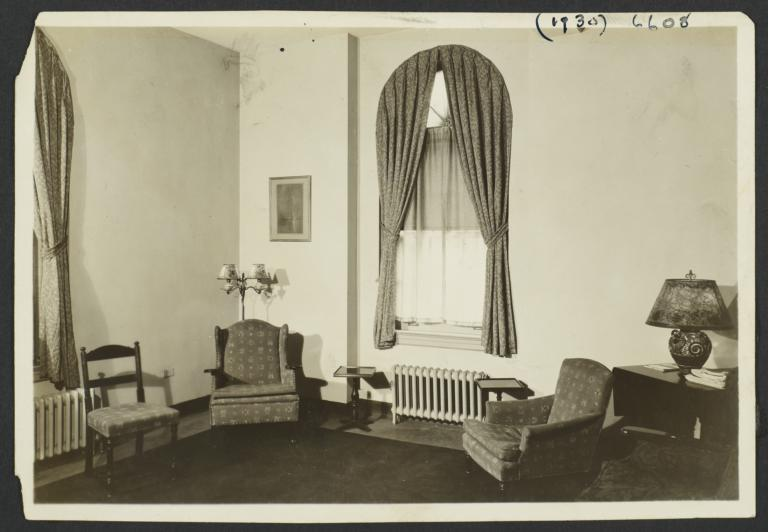Room with Chairs in Tompkins Square House