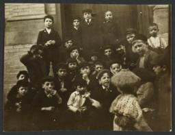 Group of Children near Door
