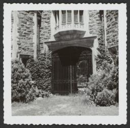 Ward Manor Gate under Window