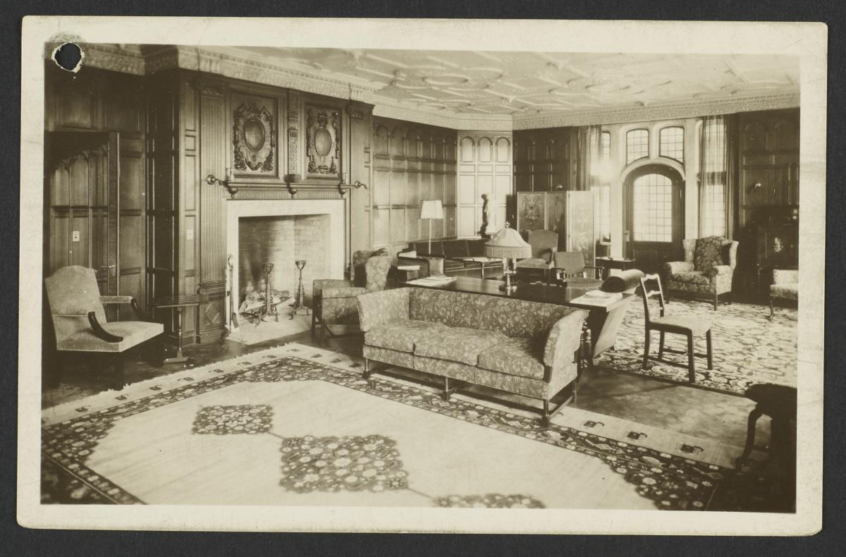Manor House Living Room