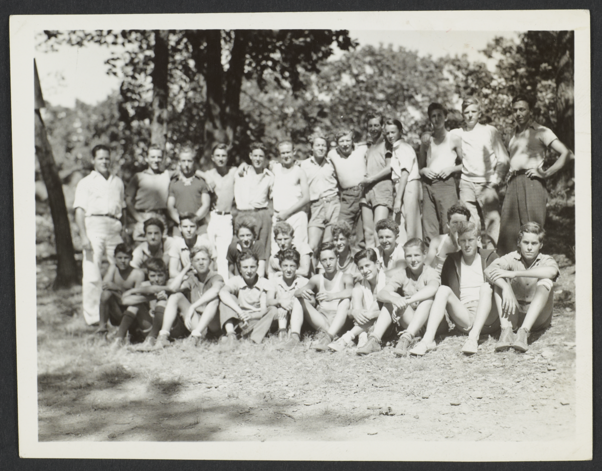Group of Boy Campers