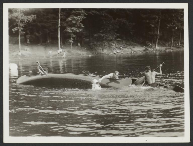 Capsized Canoes