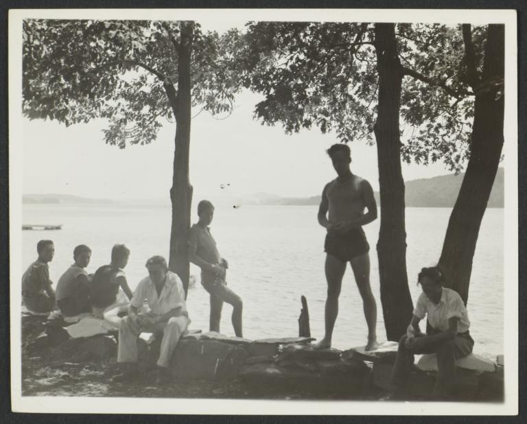 Boys near Shore