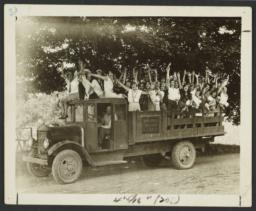 Girls in Ward Manor Truck