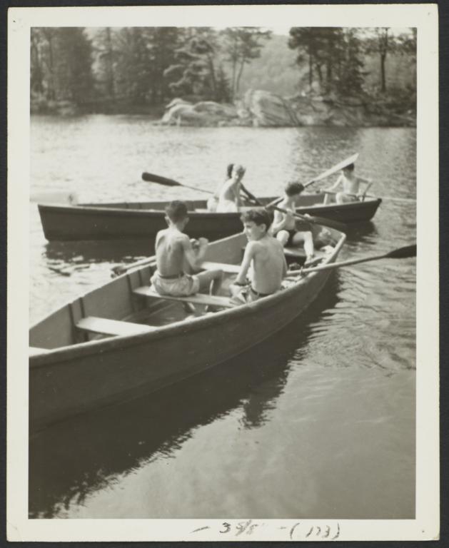 Boys in Row Boats