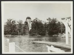 Diving from Board