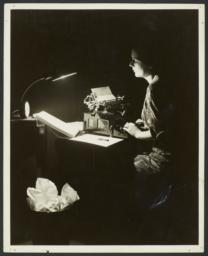 Woman with Typewriter