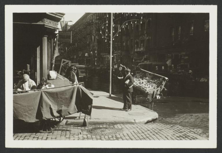 Pushcart on Prince Street