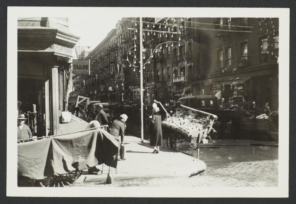 Elizabeth Street Pushcarts