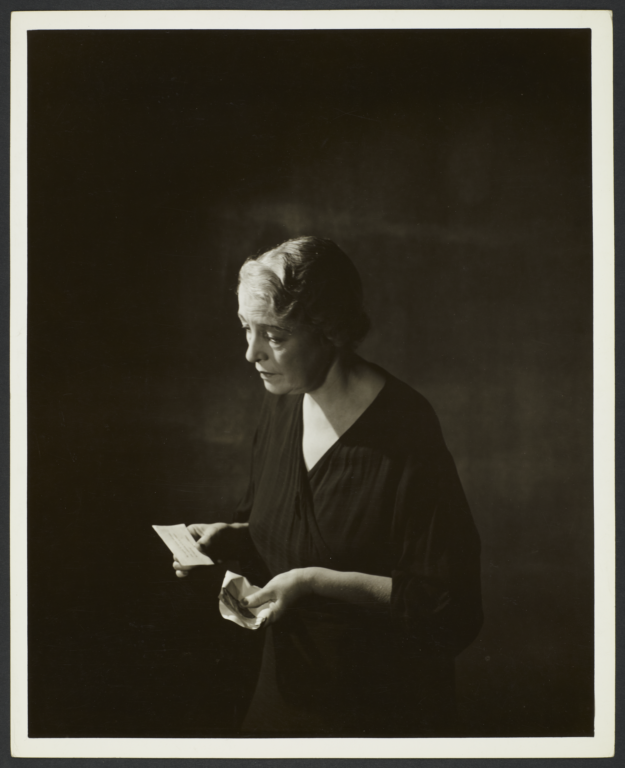 Woman with Letter and Envelope