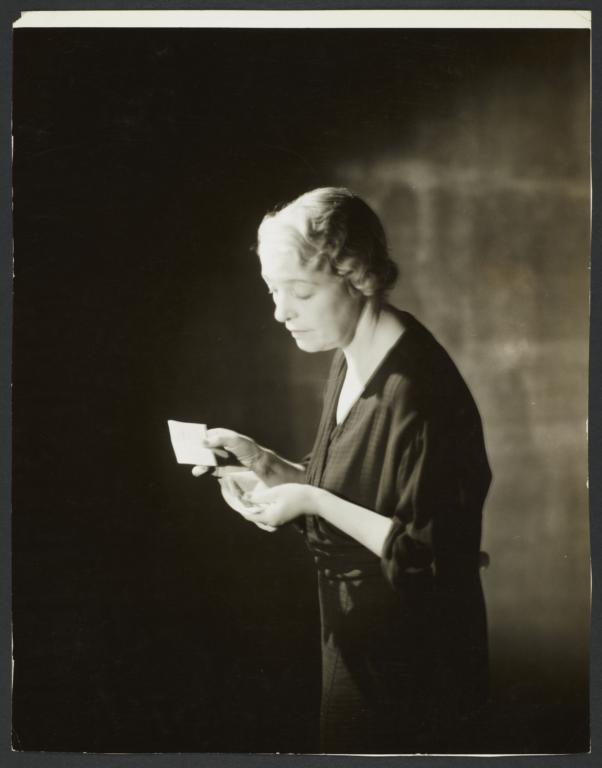 Woman Reading Letter