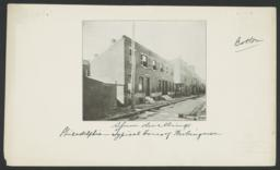Philadelphia: Typical Homes of Workingmen, Slum Dwellings