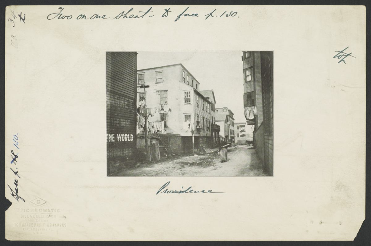 Providence Street Scene or Alleyway