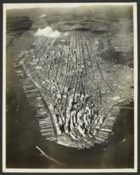 Aerial Survey of Manhattan