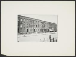 Street Scene Tenements