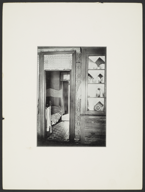 Interior View into Bedroom