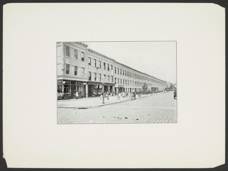 Street Scene with Drug Store