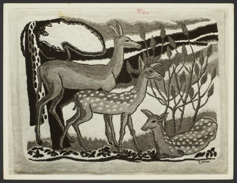Deer Rug