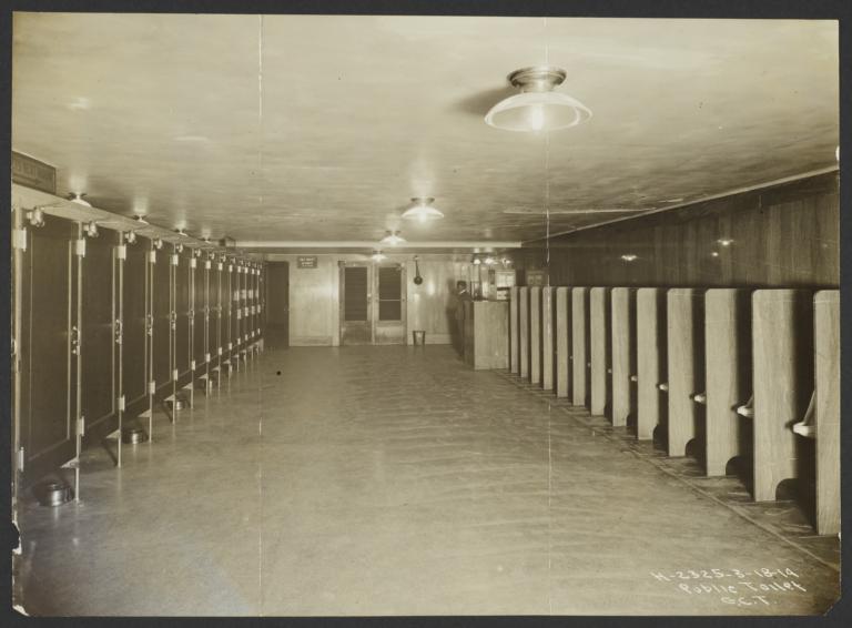 View of Public Toilet