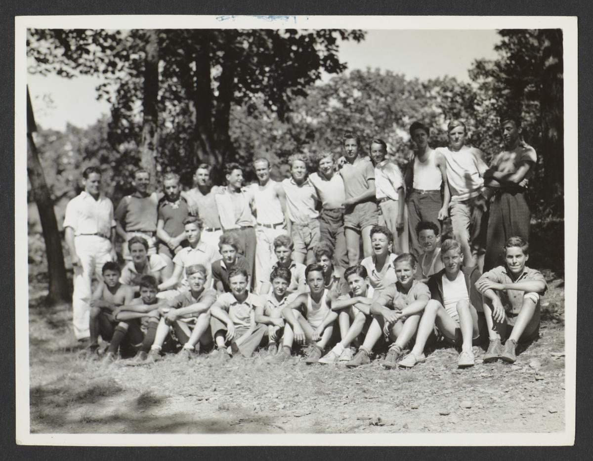 Group Portrait of Campers