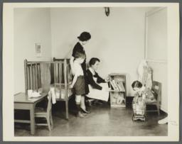 "Nurses' Educational ""Keep Well"" Series Album -- Lenox Hill Nursery"