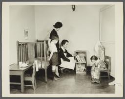 """Nurses' Educational """"Keep Well"""" Series Album -- Lenox Hill Nursery"""