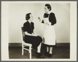 Health Examination-Women Album -- Indices of Health Tempurature -- Pulse -- Respiration