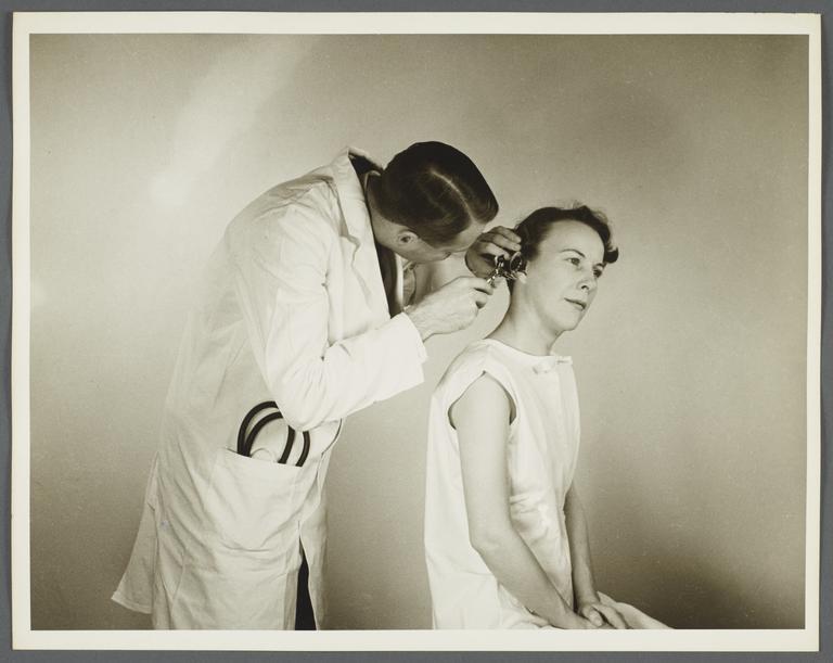 Health Examination-Women Album --  The Ear