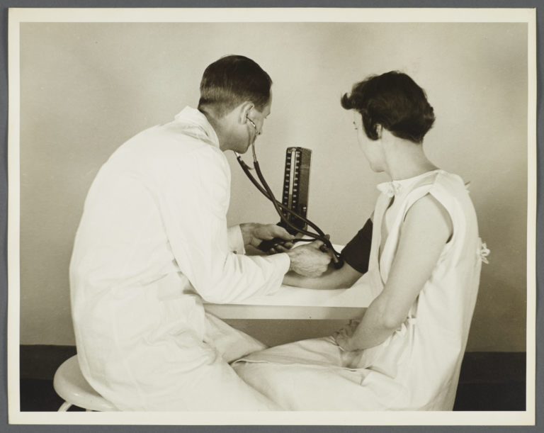 Health Examination-Women Album -- Blood Pressure