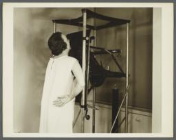 Health Examination-Women Album -- Woman Being X-rayed