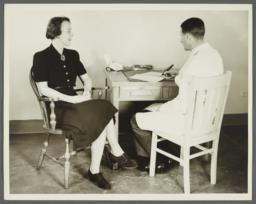 Health Examination-Women Album -- Woman with Doctor in Office