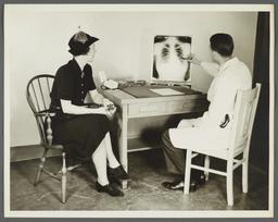 Health Examination-Women Album -- Interpretation of X-Ray