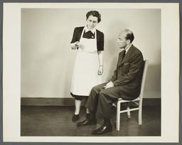 Health Examination-Men Album -- Nurse with Vial