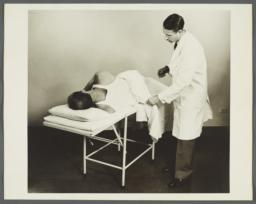 Health Examination-Men Album -- Doctor Conducting Exam