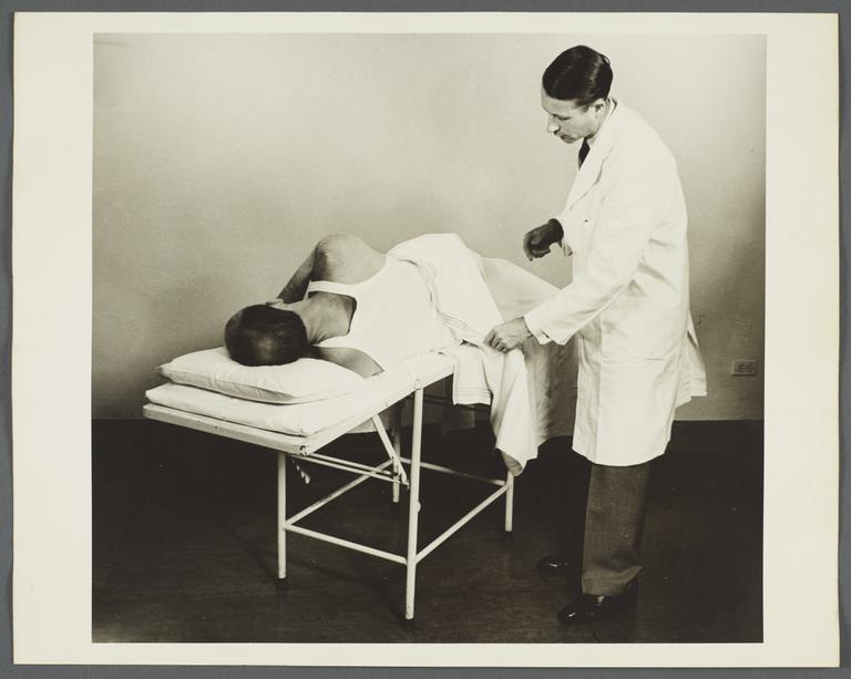 Health Examination-Men Album -- Doctor Conducting Exam