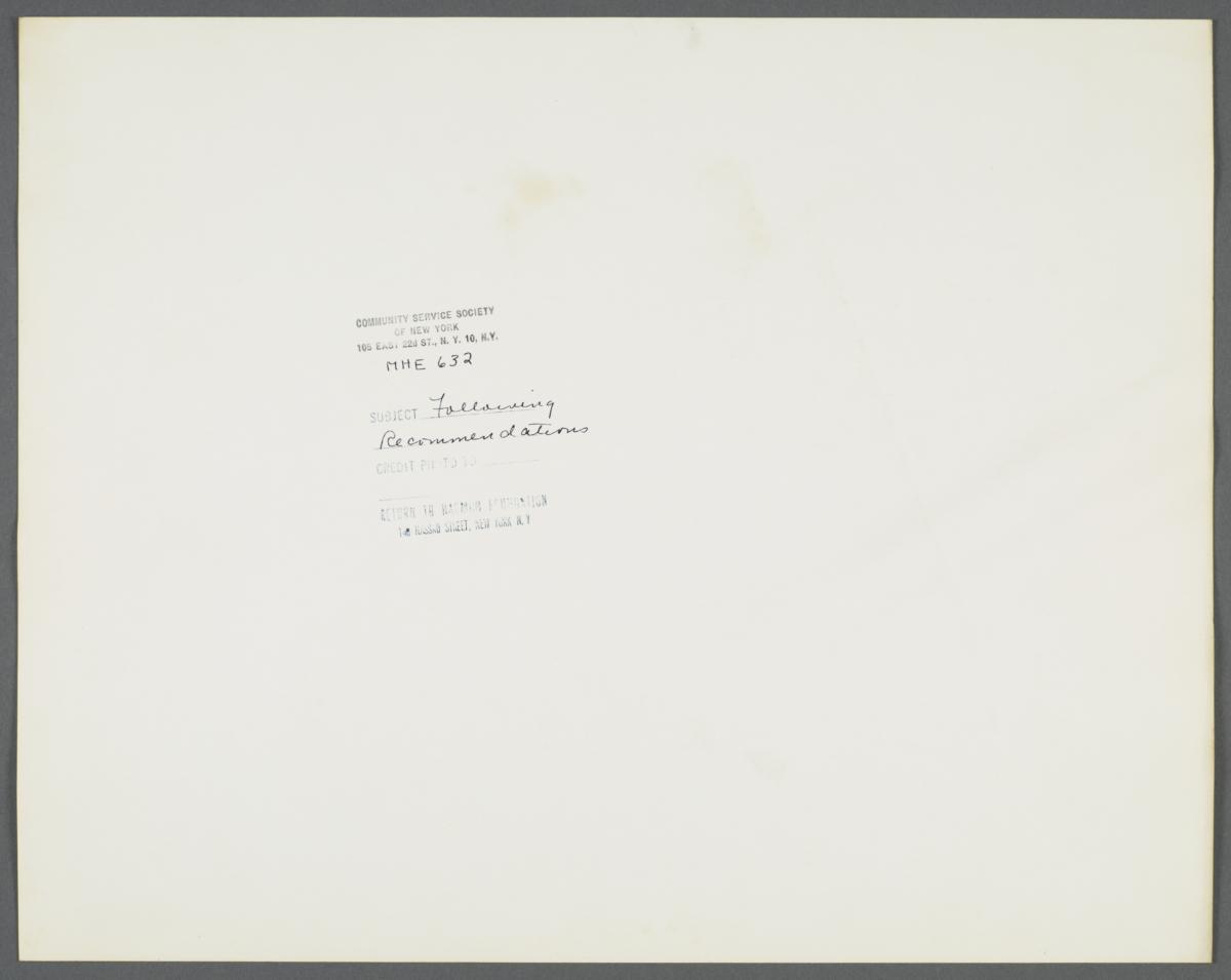 Health Examination-Men Album -- Nurse Showing Pamphlet to Man