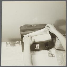 Bag and Thermometer Technique Album -- Removing Apron