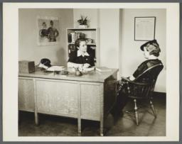 Nurses' Family Health Series: Tuberculosis Album -- Mrs. Balton Comes to Nurse To Ask For Help