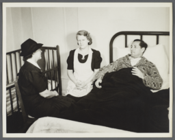 Nurses' Family Health Series: Tuberculosis Album -- Nurse Goes to Balton Home