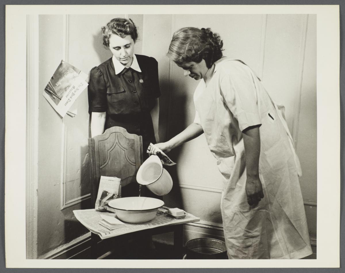 Nurses' Family Health Series: Tuberculosis Album -- Clean Hands