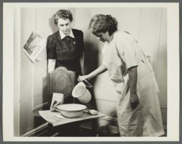 Nurses' Family Health Series: Tuberculosis Album -- Clean Hands