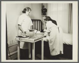 Nurses' Family Health Series: Tuberculosis Album -- Mrs. Balton Learns How to Give Bedside Nursing Care
