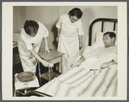 Nurses' Family Health Series: Tuberculosis Album -- Meticulous Cleaning of Patient's Room