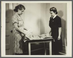 Nurses' Family Health Series: Tuberculosis Album -- Disposal of Left Over Food