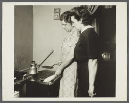 Nurses' Family Health Series: Tuberculosis Album -- Burning Food Scraps