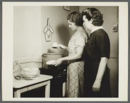 Nurses' Family Health Series: Tuberculosis Album -- Disinfecting Dishes and Silverware