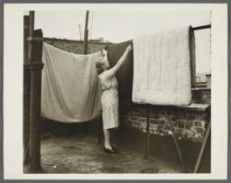 Nurses' Family Health Series: Tuberculosis Album -- Mrs. Balton Turns Bedding