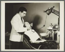 Nurses' Family Health Series: Tuberculosis Album -- She Goes to Dentist Because Her Teeth Need Care