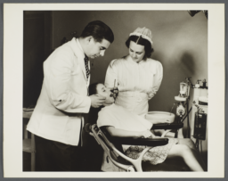 Nurses' Family Health Series: Tuberculosis Album -- Jean In Need of Dental Repair