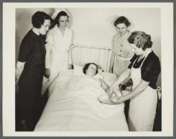 Nurses' Family Health Series: Tuberculosis Album -- Red Cross Home Nursing Class